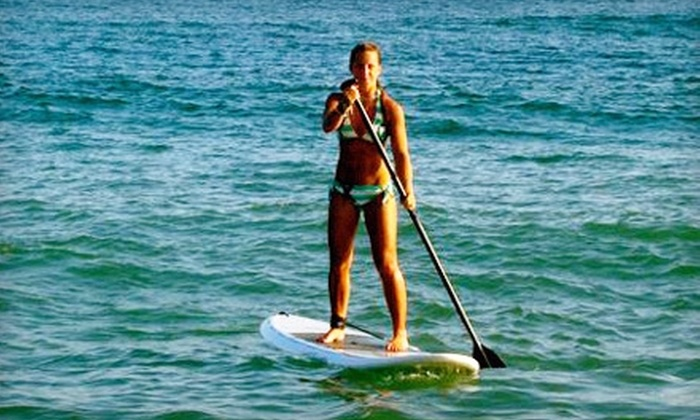 Long Island Stand-Up Paddle Boarding Co. - Great River: $49 for a Two-Hour Introductory Stand-Up Paddleboarding Class from Long Island Stand-Up Paddle Boarding Co. in Great River ($99 Value)