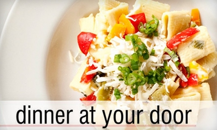 dinner at your door - Northwest District: $28 for Two Delivered Meals for Two from dinner at your door