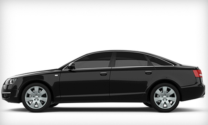 A Team Auto Enhancement - Affton: Window Tinting for Two Front Doors or Five Windows at A Team Auto Enhancement in Affton (Up to 55% Off)
