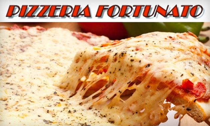 Pizzeria Fortunato - Highlands Park: $10 for $25 Worth of Italian Fare and Drinks at Pizzeria Fortunato in Smyrna