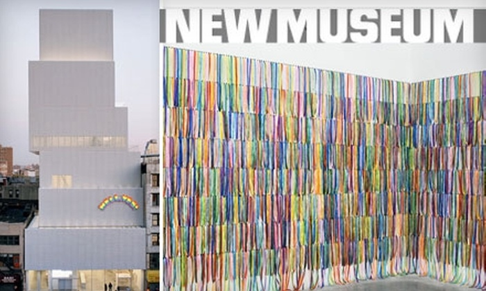 New Museum - Bowery: One-Year Membership to the New Museum. Choose from Three Options.