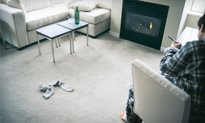 R & R Carpet Cleaning Services - Western San Diego,Point Loma Heights,Riviera Villas: Two or Four Rooms of Rotovac Steam Cleaning from R & R Carpet Cleaning Services (Up to 65% Off)