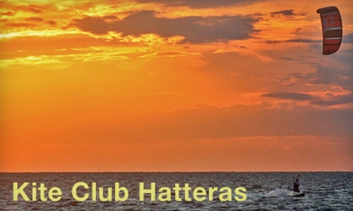 Kite Club Hatteras - Multiple Locations: $92 for Beginner Semi-Private Kiteboarding Lesson at Kite Club Hatteras (a $185 Value)