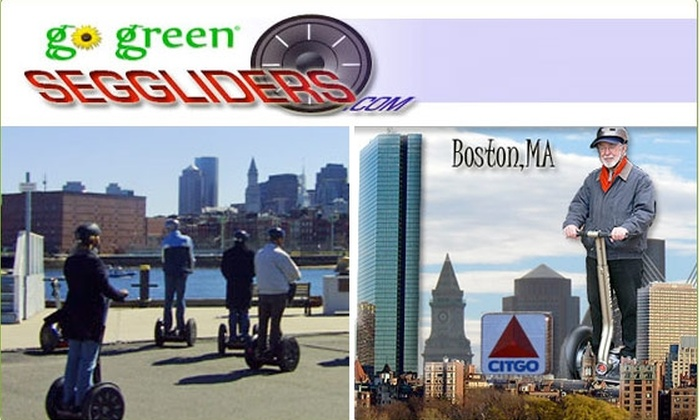 Boston Gliders - Charlestown: $30 for One-Hour Segway Adventure ($60 value)