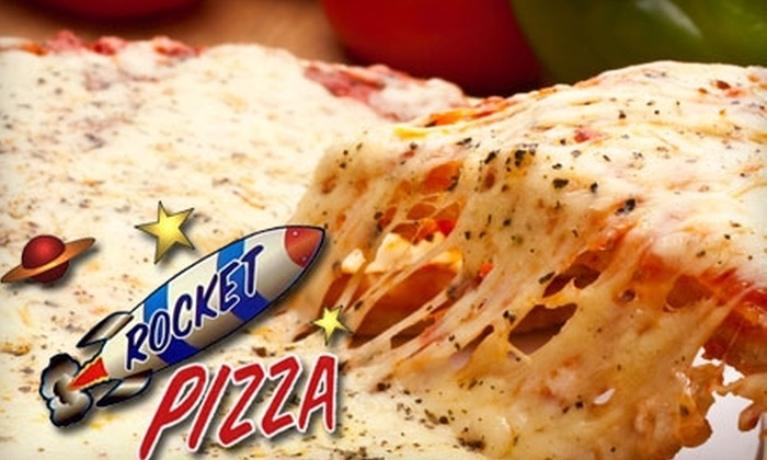 Bob's Rocket Pizza - Concordia: $9 for $18 Worth of Pizza, Salads, Wings, and More at Bob's Rocket Pizza