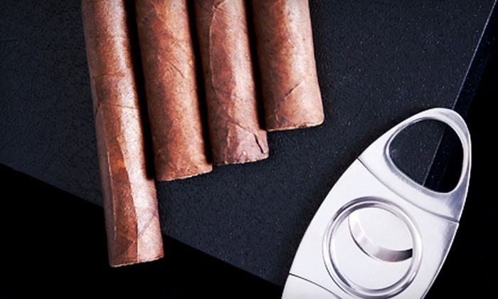 Victory Bar & Cigar - Oak Hill: Casa De Garcia Resealable Pack or an Oliva Cigars Sampler with Cutter at Victory Bar & Cigar (Up to 53% Off)