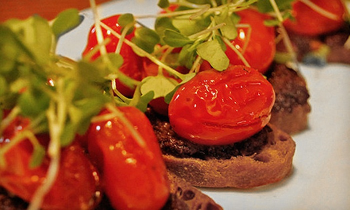 Cellar 58 - Bowery: Three-Course, Italian Small-Plates Dinner and Dessert for Two or Four at Cellar 58