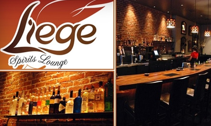 Liege Spirits Lounge  - Old City:  $15 for $30 Worth of Creative Cuisine and Inspired Spirits at Liege Spirits Lounge