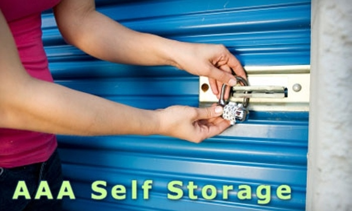 AAA Storage - North E. Hwy 80: $30 for $70 Worth of Storage and Storage Supplies at AAA Storage
