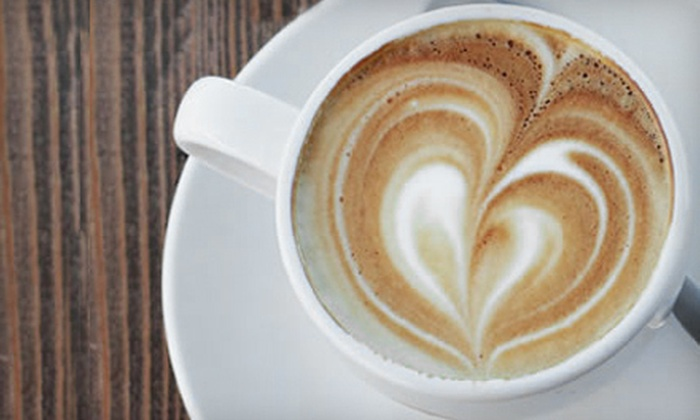 Heroes Coffee - Branson: $12 for Five Coffee Drinks at Heroes Coffee in Branson (Up to $25 Value)