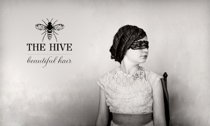 The Hive - Downtown: $30 for a Haircut at The Hive (Up to $65 Value)