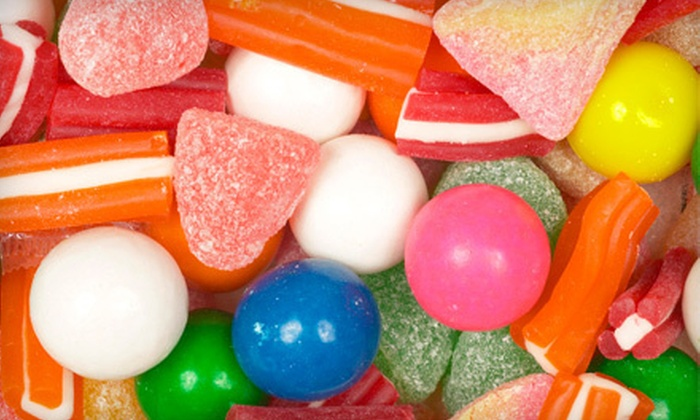 Old Town Candy & Toys - Arts Districts: Bulk Candy at Old Town Candy & Toys (Up to 53% Off). Two Options Available.