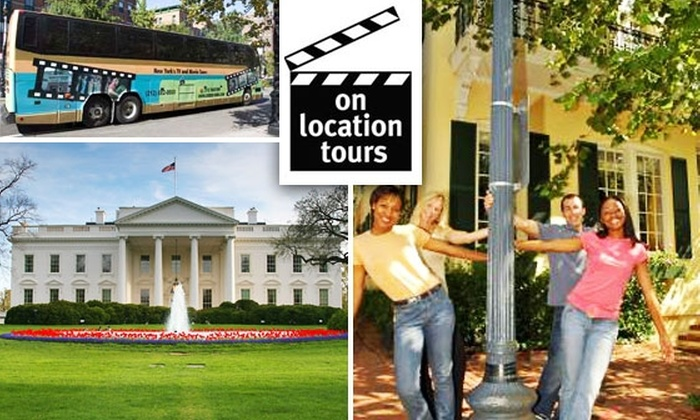 On Location Tours - Washington DC: $20 Movie- and TV-Site Tours with On Location Tours