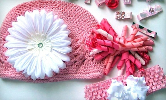 Sugar and Spice Bows Children's Boutique: $17 for $35 Worth of Girls' Accessories from Sugar and Spice Bows Children's Boutique