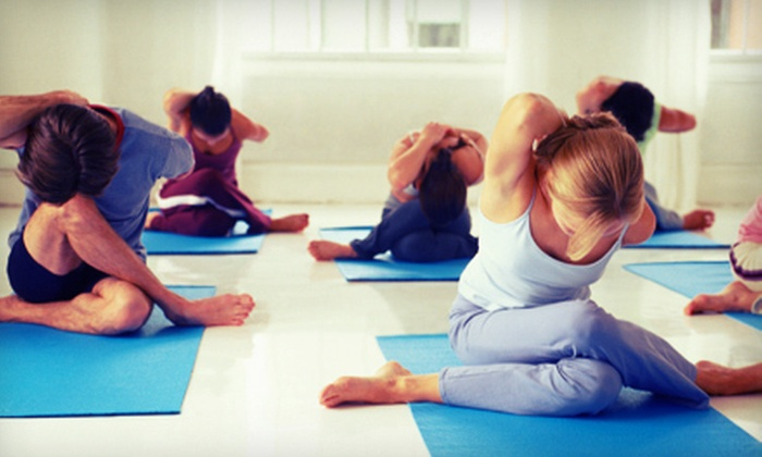 Molly's Yoga Corner - Fairport: 5 or 10 Classes at Molly's Yoga Corner in Fairport (67% Off)