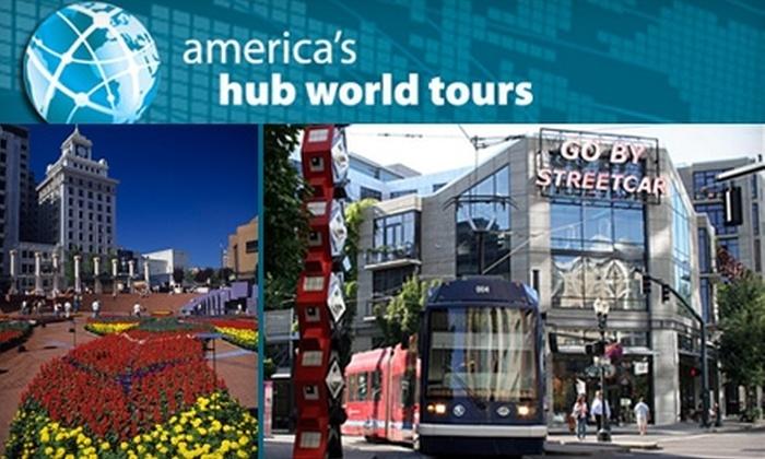 America's Hub World Tours - Portland: Half Off Tours with America's Hub World Tours. Choose from Five Tour Options.