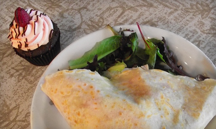 Sweet Devotion Cupcake & Creperie Cafe - Havre de Grace: $10 For Crêpes and Cupcakes for Two at Sweet Devotion Cupcake & Creperie Cafe in Havre de Grace (Up to $21 Value)