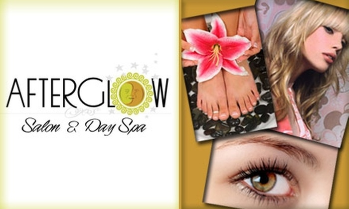 Afterglow Salon and Day Spa - Corbet - Terwilliger - Lair Hill: $40 Hair and Body Rejuvenation Package at AfterGlow Salon and Day Spa