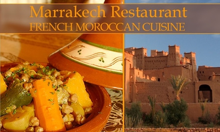 Marrakech Restaurant - Palma Ceia: $15 for $30 Worth of Moroccan Cuisine and Drinks at Marrakech Restaurant