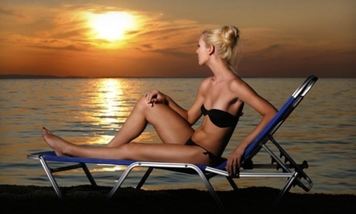 Image Sun - St. Peters: One Month of Unlimited Bed Tanning in Any Level Bed or Three or Six UV-Free Mystic Tan Spray Tans at Image Sun in St. Peters (Up to 81% Off)