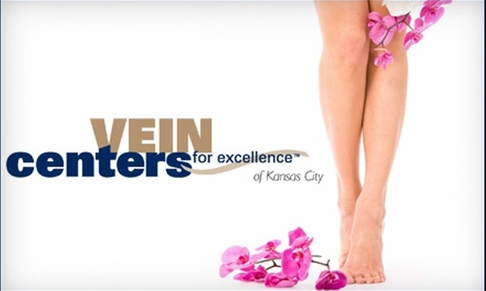 Vein Centers for Excellence of Kansas City - Leawood Commons: $149 for a Consultation and Two Spider-Vein Treatments at Vein Centers for Excellence of Kansas City