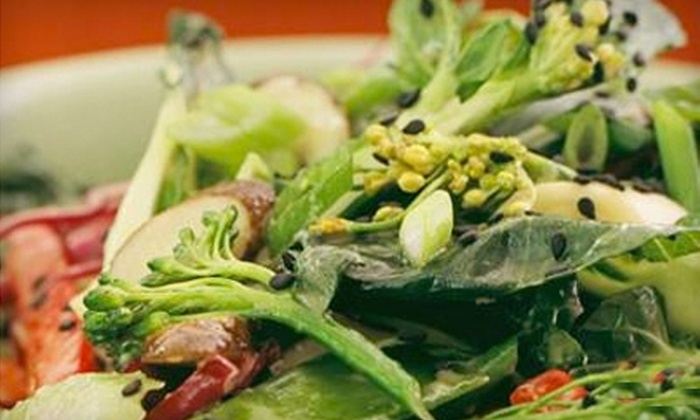 Euphoria Loves Rawvolution Cafe - Santa Monica: Half Off Organic Meals from Euphoria Loves Rawvolution in Santa Monica. Three Options Available.