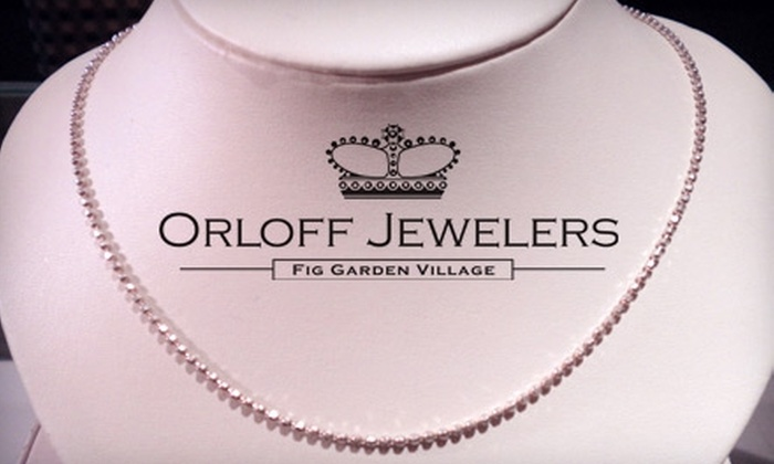 Orloff Jewelers - Bullard: $30 for Sterling Silver Necklace from Orloff Jewelers