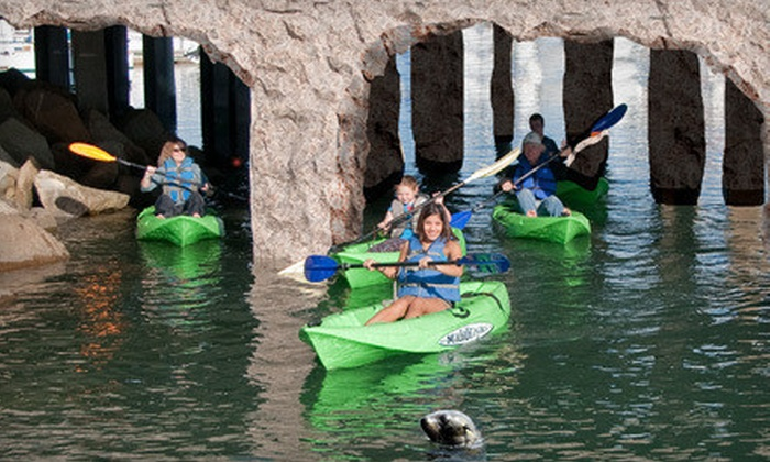 Channel Islands Kayak Center - Oxnard: $35 for a Two-Hour History & Wildlife Kayak Tour from Channel Islands Kayak Center in Oxnard ($79.95 Value)