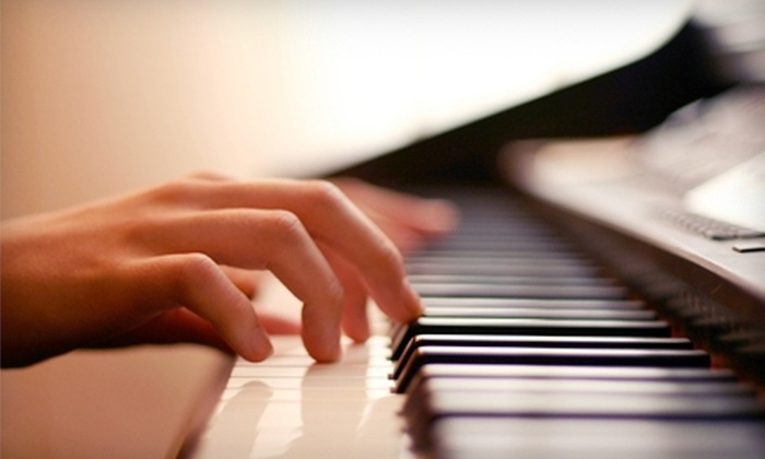 Fanfare Music Academy - Westside: $50 for Four Half-Hour Private Piano Lessons at Fanfare Music Academy ($100 Value)