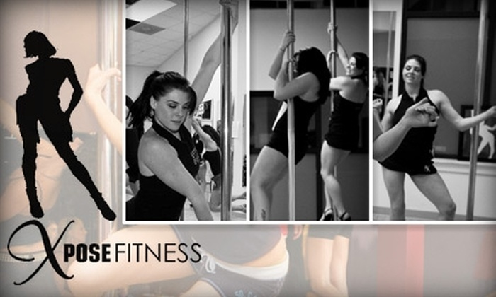 Xpose Fitness - Parkville: $22 for Six Pole-Dancing and Chair Classes at Xpose Fitness