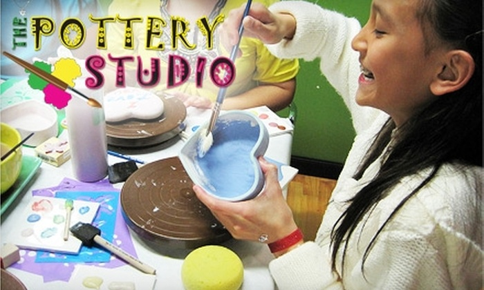 The Pottery Studio - Silverado Ranch: $15 for $30 of Paint-Your-Own Pottery