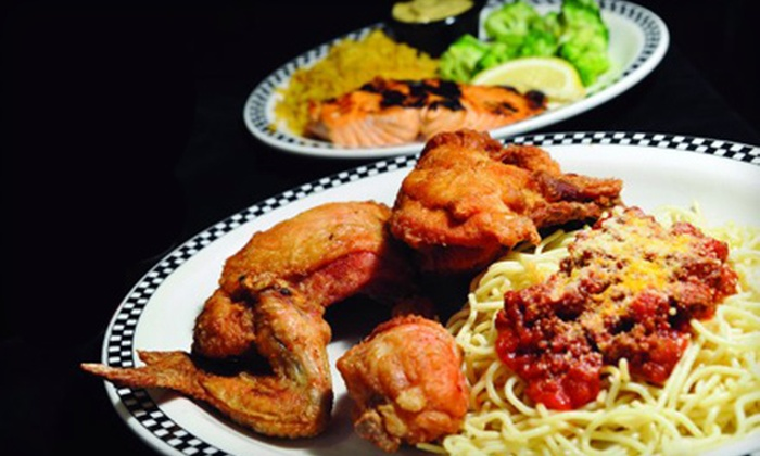 Lucky Strike Restaurant - Chicopee: $15 for $30 Worth of Classic Diner Fare at Lucky Strike Restaurant in Chicopee