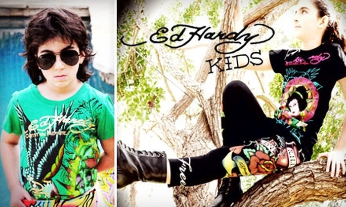Ed Hardy Kids: $20 for $40 Worth of Clothing and More from Ed Hardy Kids