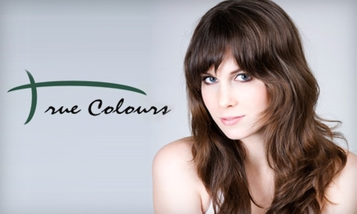 True Colours - Dupont Circle: $79 for a Haircut and Highlights or Color at True Colours (Up to $195 Value)