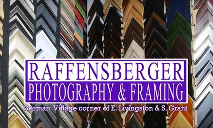 Raffensberger Photography & Framing - German Village: $50 for $100 Worth of Custom Framing at Raffensberger Photography & Framing