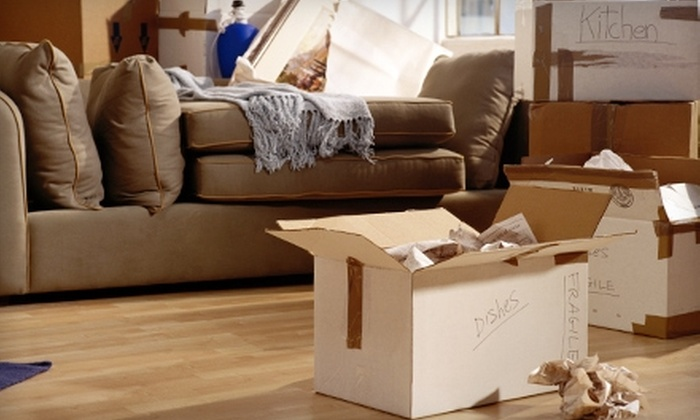 All About Moving - Davis Square: $44 for One Hour of Moving Services from Up to Three Workers from All About Moving ($89 Value)