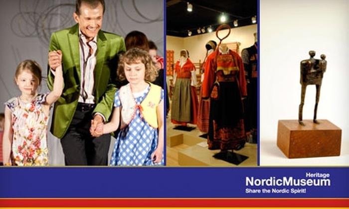 Nordic Heritage Museum - Sunset Hill: Membership or Admission to Nordic Heritage Museum. Choose from Three Options.