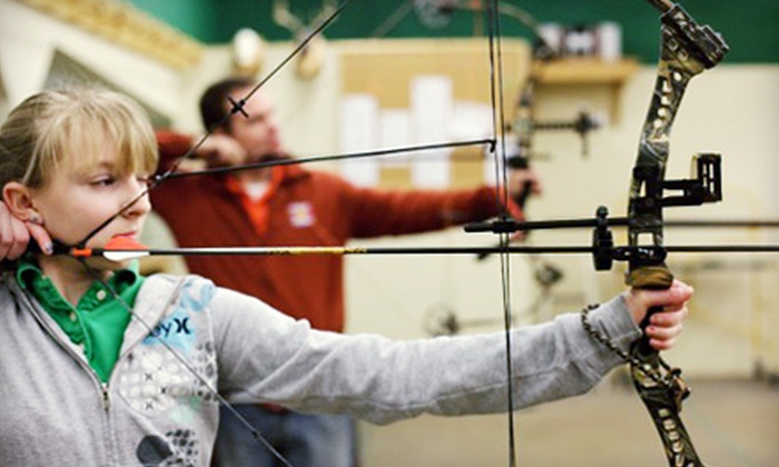 Average Joe's Archery - Coon Rapids: Archery Outing for Two with Equipment and Meal or Open Shooting at Average Joe's Archery (Up to 67% Off)