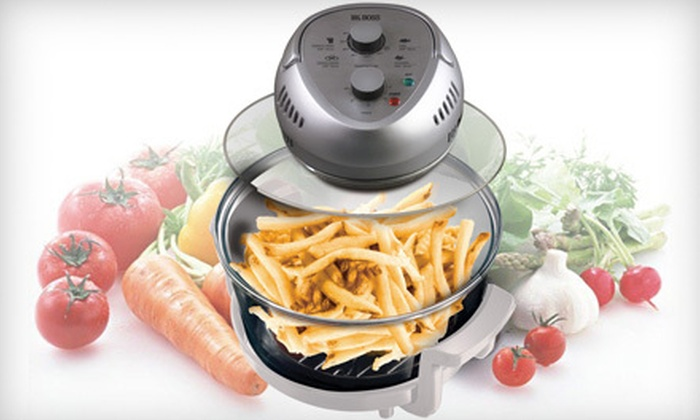 Groupon Goods: $79 for a Big Boss Oil-Less Fryer with Recipe Book and Accessories ($166.65 Value)