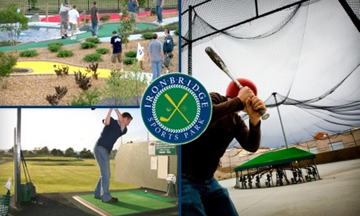 Ironbridge Sports Park - Bermuda: $4 for Choice of Driving-Range Bucket, Round of Mini Golf, Four Batting-Cage Tokens, or One Rookie or Adult Go-Kart Race at Ironbridge Sports Park in Chester (Up to $8 Value)