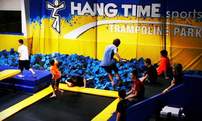 Hangtime Sports - Lehi: One-Hour Trampoline-Park Outing for Two, Four, or Eight or a Two-Hour Private Party at Hang Time Sports in Lehi (Up to 55% Off)