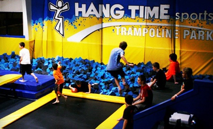 One Hour in the Trampoline Park for 2 People (a $16 value) - Hangtime Sports in Lehi