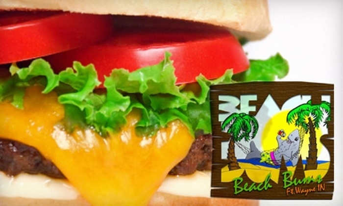 Beach Bums Burgers - Ludwig Park: $10 for $20 Worth of Luxurious Patties at Beach Bums Burgers