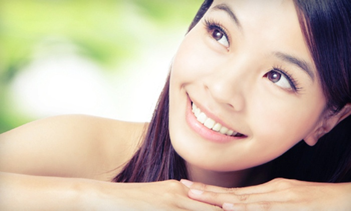 HLC Med Advanced Laser and Skin Care - Multiple Locations: Professional Skincare Products at HLC Med Advanced Laser and Skin Care (Half Off). Two Options Available.