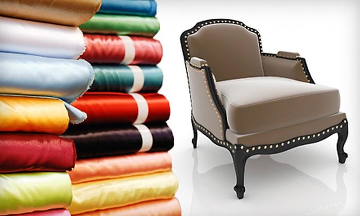 Boca Bargoons - Johns Creek: $25 for $50 Worth of Designer Fabrics at Boca Bargoons in Alpharetta