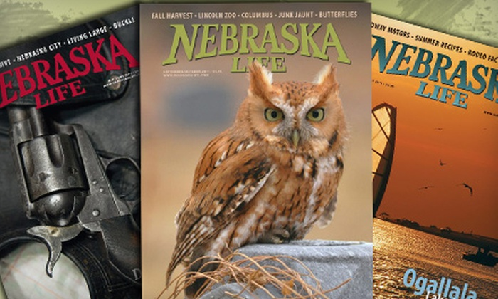 """Nebraska Life"": $8 for a New One-Year Subscription to ""Nebraska Life"" Magazine ($21 Value)"