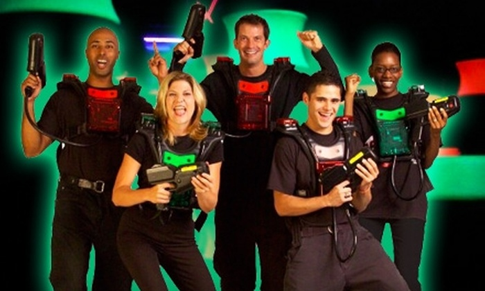 C.J. Barrymore's - Macomb: $20 for Four Laser-Tag Tickets Plus 132 Arcade Tokens at C.J. Barrymore's in Clinton Township ($49 Value)