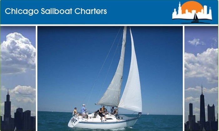 Chicago Sailboat Charters - Chicago: $50 to Sail with Chicago Sailboat Charters ($90 Value)