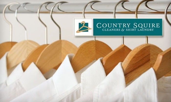 Country Squire Cleaners - Multiple Locations: $12 for $25 Worth of Dry Cleaning at Country Squire Cleaners