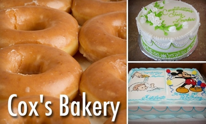 Coxs Bakery and Donut Shop - Irvin: Traditional Mexican Desserts from Cox's Bakery. Choose from Three Options.